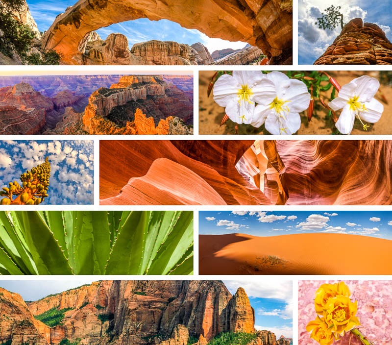 Click to view sample images from Canyonlands