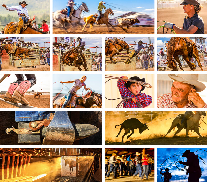 Click to view sample images from Rodeo!